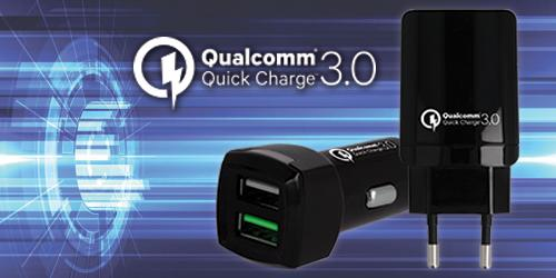 QUALCOMM 3.0  <br>Quick Charge