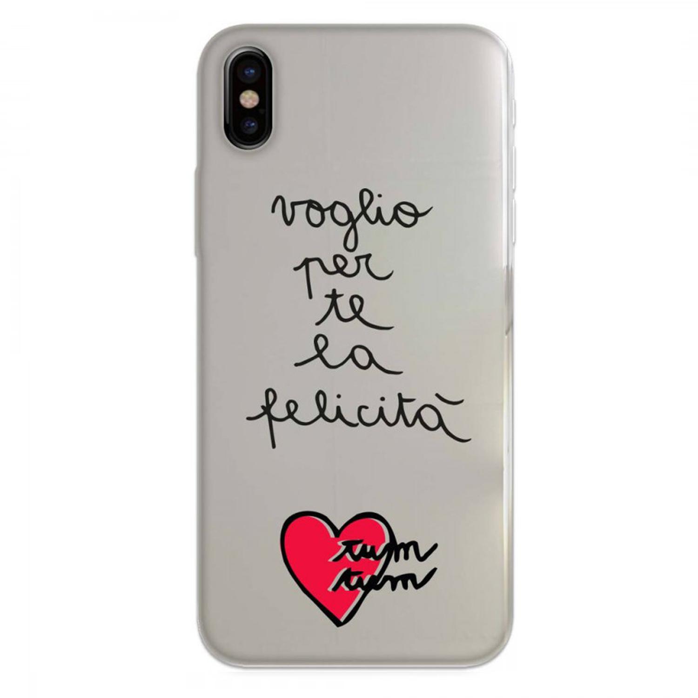Cover Silvia Tosi ricamata per iPhone X XS - Cover Cellulari